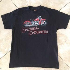 Harley Davidson black t shirt for boys